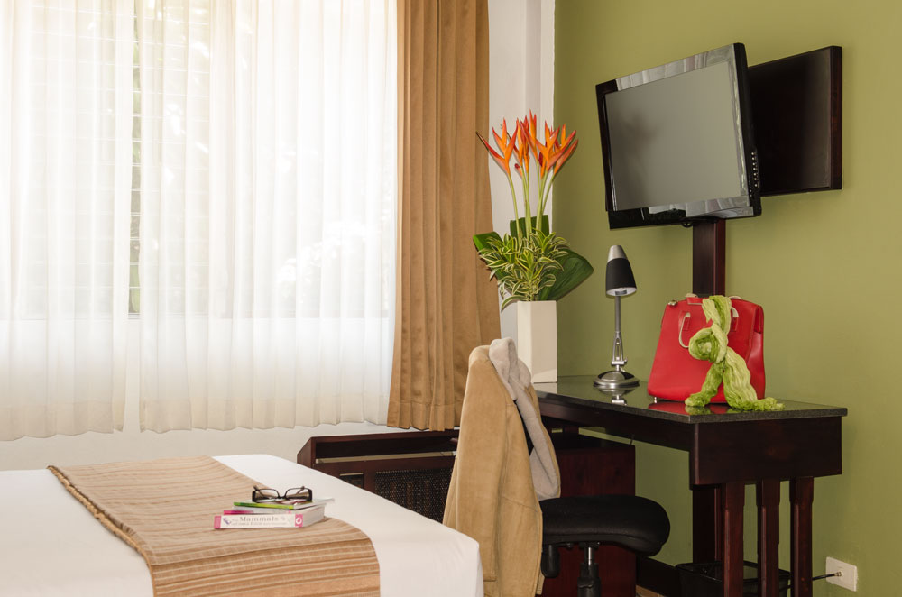 Privacy and tranquility in all our rooms at La Sabana.